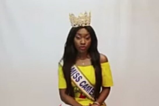 MISS CAMEROUN 2018 REAGIT SUITE A LA POLÉMIQUE SUR L'HYMNE NATIONAL