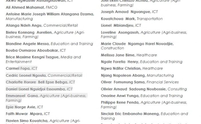 Programme Tony Elumelu Foundation Entrepreneurship 2018 : 38 Camerounais sélectionnés