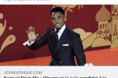 BUZZ SUR LA CANDIDATURE SUPPOSEE  À L'ELECTION PRESIDENTIELLE AU CAMEROUN, SAMUEL ETO'O OPPOSE UN DEMENTI FORMEL  À JEUNE AFRIQUE ET FRANCE 24