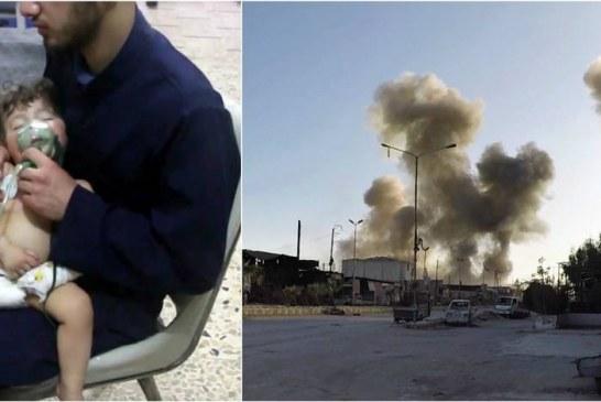 Syrie: La Russie dément l'utilisation d'armes chimiques dans la Ghouta