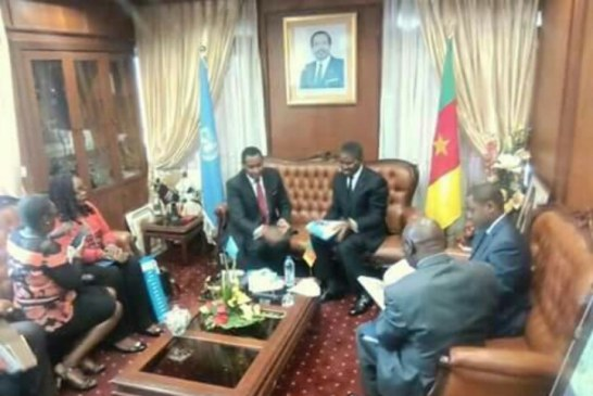 OMS Cameroun:le nouveau représentant chez le Minsanté