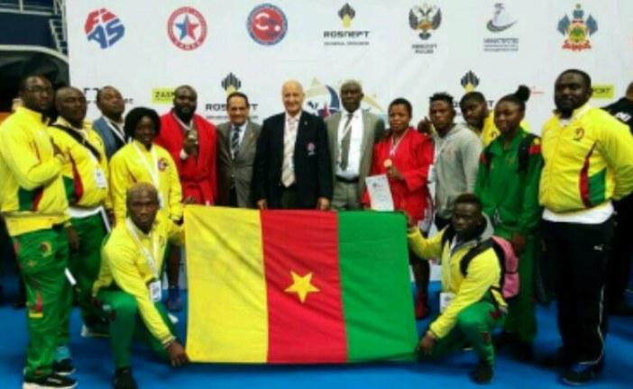 Sport:Championnats d'Afrique de Sambo, Tunisie 2018.