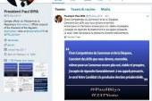 POLITIQUE: PRÉSIDENTIELLE 2018 «Je serai votre candidat à la prochaine élection présidentielle» Le président de la République l'a annoncé ce matin sur son compte Twitter