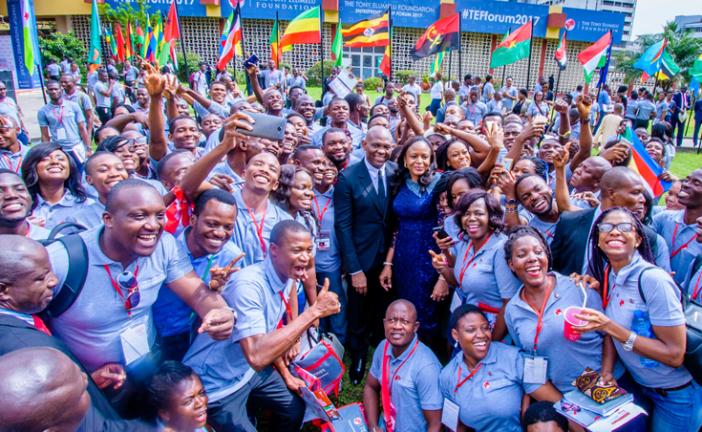UBA : La Fondation Tony Elumelu lance la plus grande plateforme numérique au monde pour les entrepreneurs africains au Forum TEF 2018