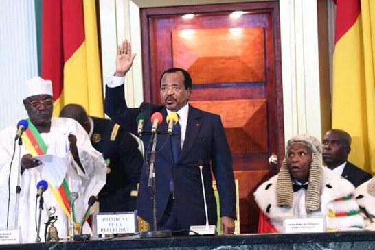 Politique : Paul Biya prête serment sous tensions
