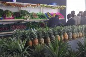 Commerce: Un espace pour la vente des produits agricoles