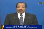 Cameroun : Discours intégral du Chef de l'État à la jeunesse Camerounaise