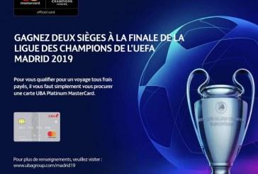 BANQUE : UBA-Mastercard: un partenariat pour récompenser les clients avec un voyage tous frais payés pour assister aux demi-finales et à la finale de la Ligue des Champions de l'UEFA