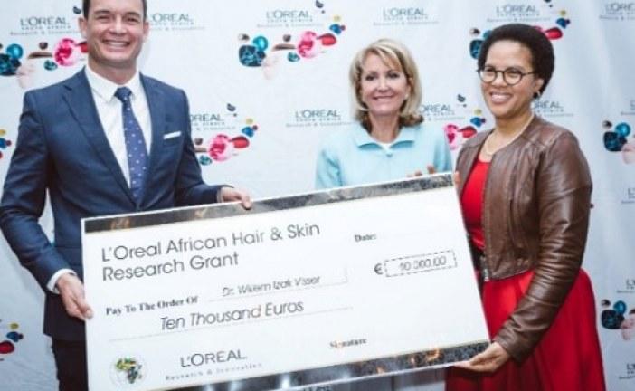 SOCIÉTÉ : L'Oréal African Hair and Skin research offre 10000 euros pour la Recherche en Afrique