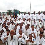 Douala- karaté : Une centaine de pratiquants en stage au parcours vita de Douala.