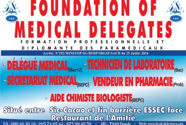 FOUNDATION OF MEDICAL DELEGATES : UN DÉLÉGUÉ MÉDICAL PLUS COMPÉTENT ET PLUS PERFORMANT