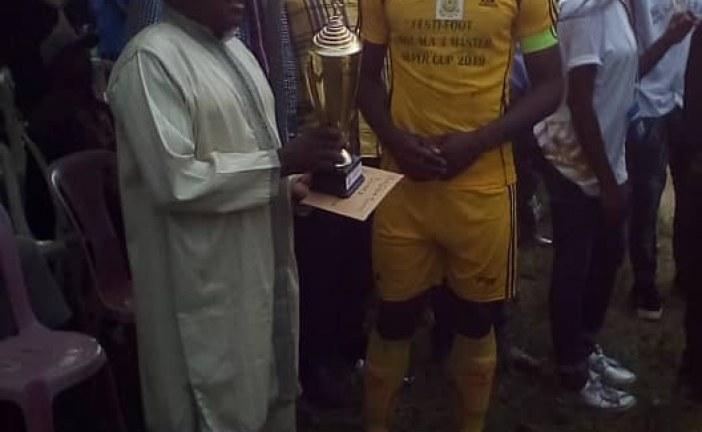 Tournoi de football vacances – Douala 3 master super cup 2019 : les anges de Bwang Bakoko s'emparent du trophée final.