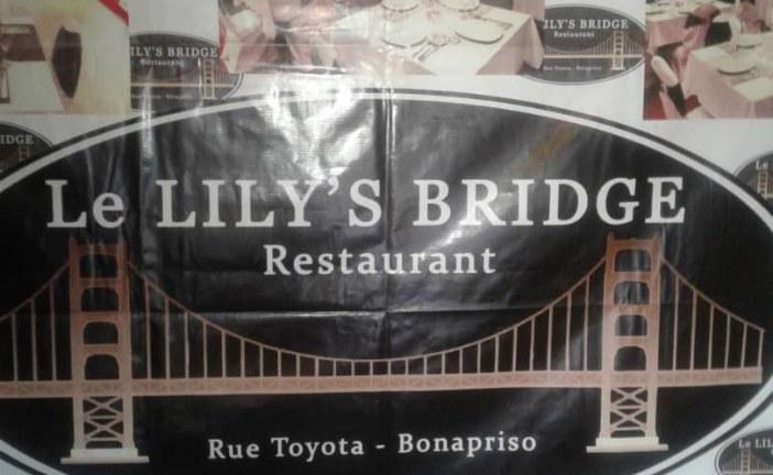 LE LILY'S BRIDGE RESTAURANT : LA DIRECTION DE L'ÉTABLISSEMENT A CONVIÉ LES HOMMES ET FEMMES DES MÉDIAS À UN DÉJEUNER DE PRESSE LE 12 SEPTEMBRE 2019 À  DOUALA