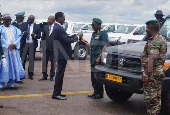 Forces Armées : 157 véhicules remis aux différents chefs D'état Major