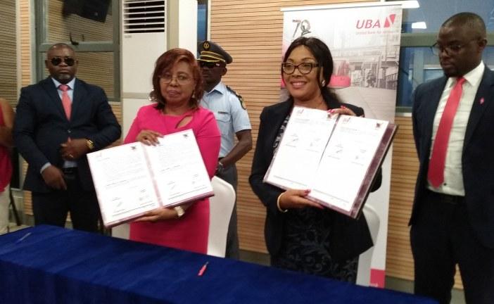 BANQUE : Le ministre des enseignements secondaires signe un partenariat avec UBA pour le paiement des frais de scolarité.