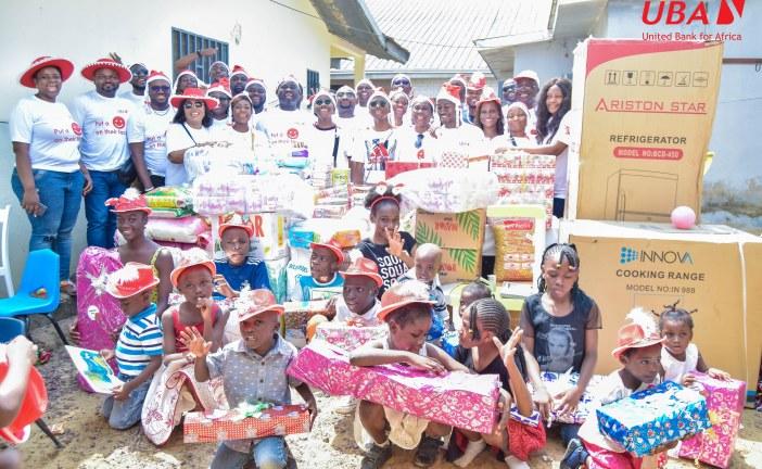 BANQUE : LA FONDATION UBA CAMEROUN AU CHEVET DES ORPHELINS