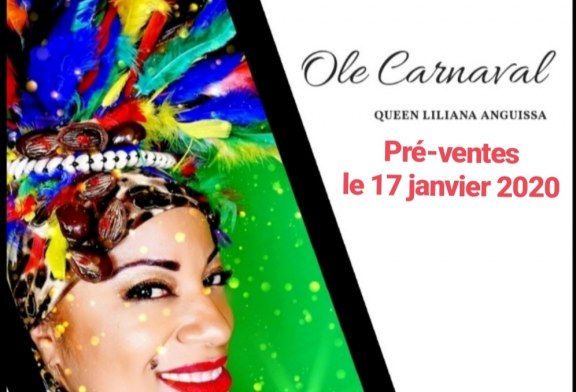 CULTURE : QUEEN LILIANA ANGUISSA COMMET OLE CARNAVAL