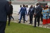 CHAN 2020 : Le PM Joseph Dion Nguté affiche sa satisfaction, lors de la visite des chantiers à Douala le 5 février 2020.