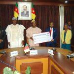 CORONAVIRUS : United Bank for Africa (UBA) Cameroun fait un don de 150 millions de FCFA au Gouvernement du Cameroun pour soutenir les efforts de lutte contre le COVID-19.