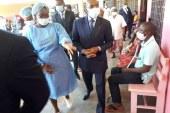 Fonctionnement des formations sanitaires en période de crise Covid-19: le Minsante visite les Hôpitaux de Districts de Djoungolo et d'Efoulan.