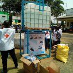COVID-19 : l'UNICEF ÉQUIPE LA VILLE DE DOUALA EN MATÉRIELS DE LUTTE CONTRE LA PROPAGATION DU CORONAVIRUS.