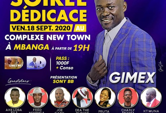 Cameroun – Culture : l'artiste chanteur Gimex promet des étincelles le 18 septembre à Mbanga
