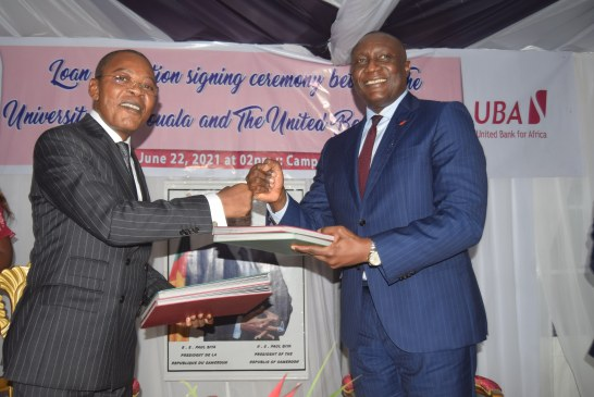 ÉCONOMIE : UBA Cameroon accorde un prêt de 2,08 milliards de FCFA au l'Université de Douala