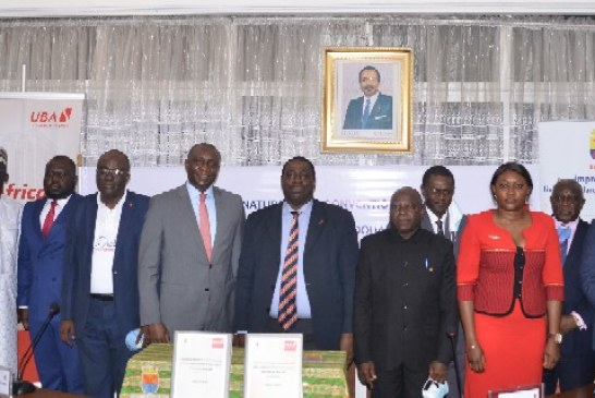 UBA promeut le développement de la ville de Douala, la banque a accordé un prêt de 3,2 milliards de Fcfa à la Mairie de Douala